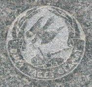 Woodman of the World emblem