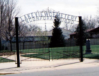 Lakeview Cemetery Entrance, Broomfield CO