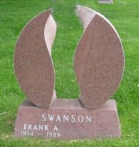 Swanson Tombstone front